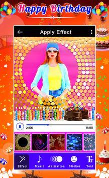 Happy Birthday Video Maker screenshot 5