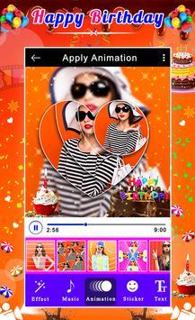 Happy Birthday Video Maker screenshot 7