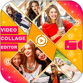 Video Collage Editor Mix Video icon