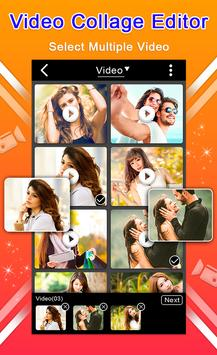 Video Collage Editor Mix Video screenshot 5