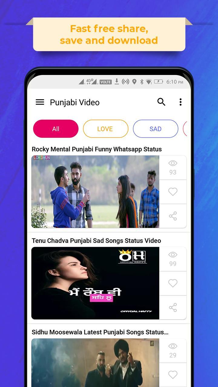 Punjabi Video Status for Android - APK Download