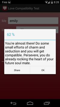 Love Compatibility Test screenshot 2
