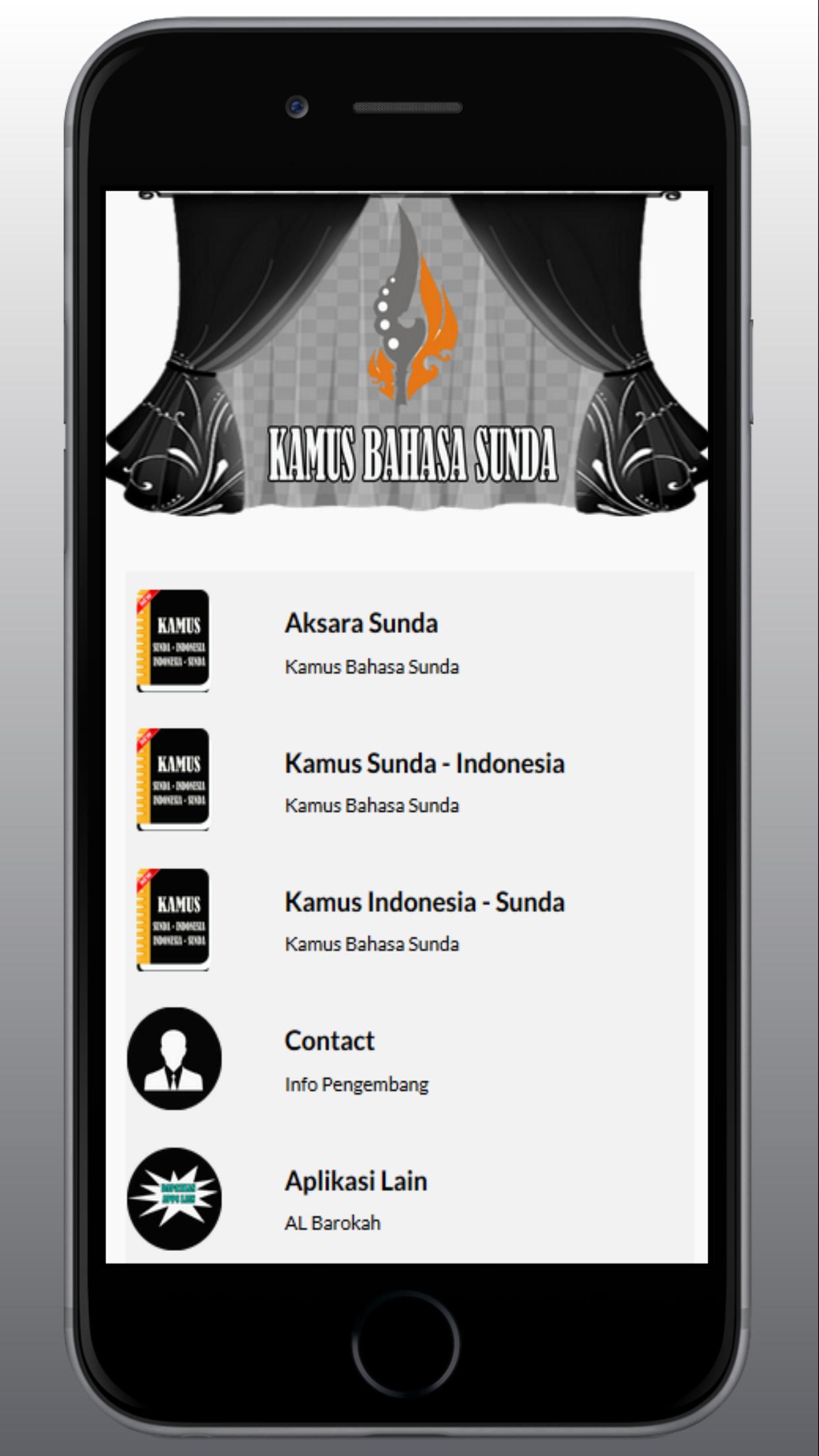 Kamus Sunda poster