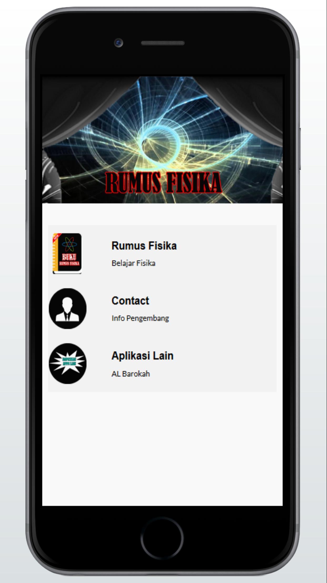 Rumus Fisika Offline poster