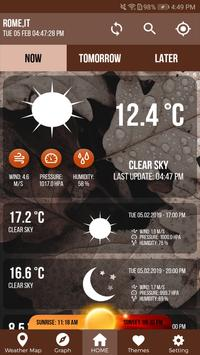 Weather App Weather Channel Free Weather Radar poster