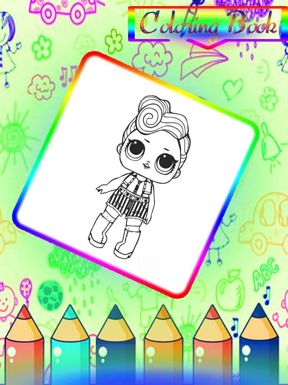 Coloring Book Lol Surprise Dolls For Android Apk Download