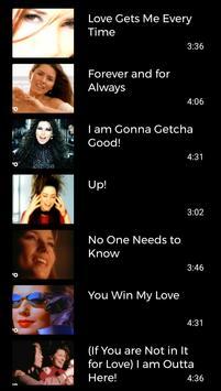 Shania Twain Songs screenshot 5