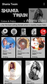 Shania Twain Songs screenshot 1