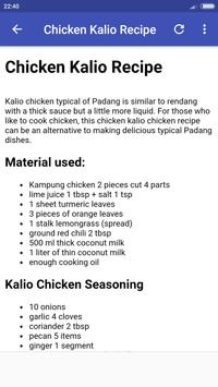 Padang Recipes screenshot 3