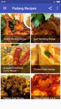 Padang Recipes screenshot 5
