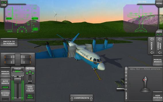 Turboprop Flight Simulator imagem de tela 11