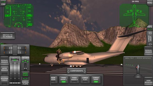 Turboprop Flight Simulator imagem de tela 1