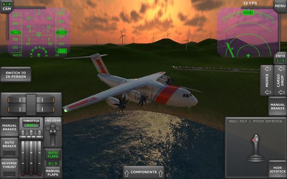 Turboprop Flight Simulator imagem de tela 21