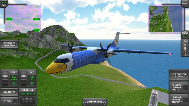 Turboprop Flight Simulator imagem de tela 6