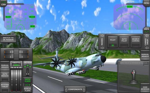 Turboprop Flight Simulator imagem de tela 9