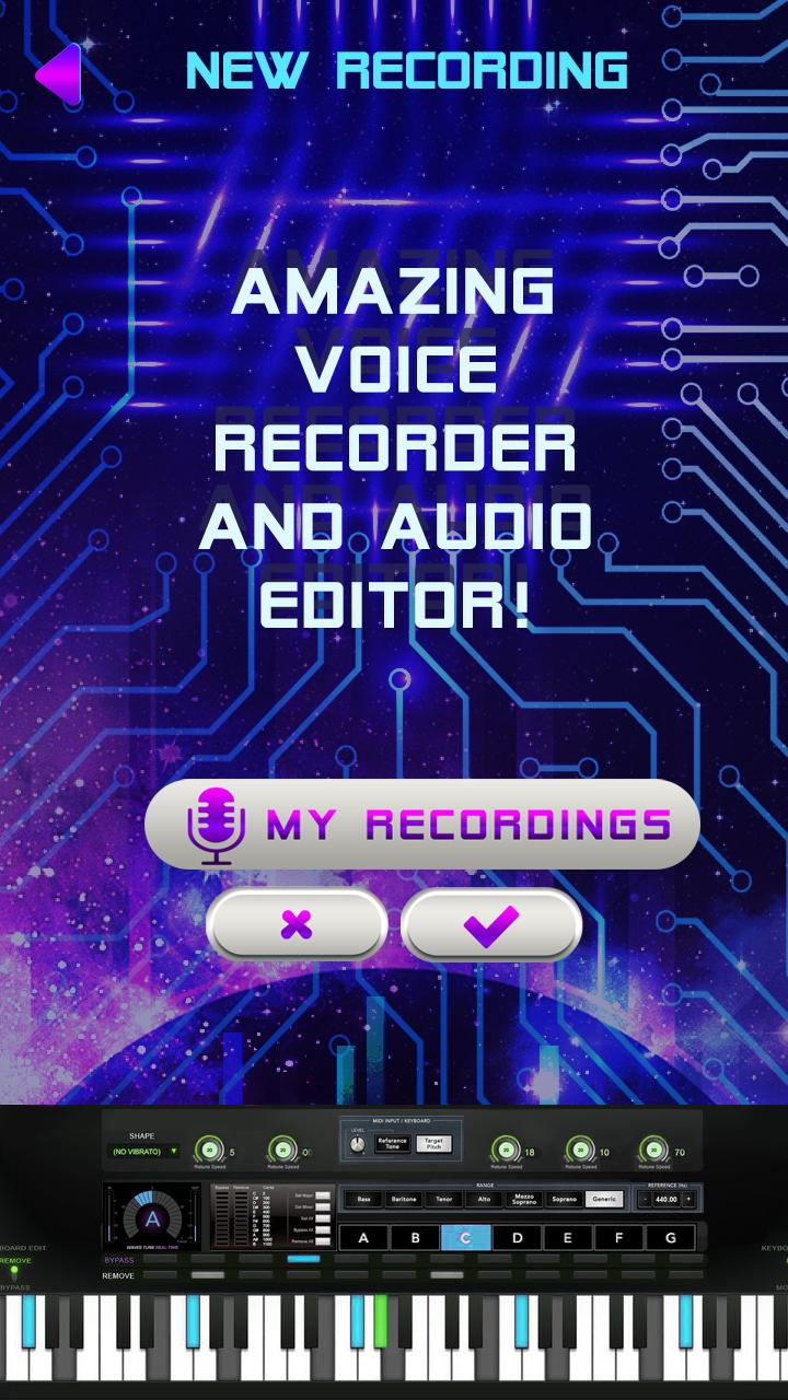 Electro Music Auto Tune - Voice Changer App for Android