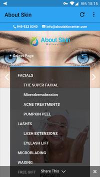 About Skin Wellness Spa poster
