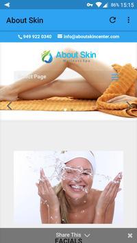 About Skin Wellness Spa screenshot 1