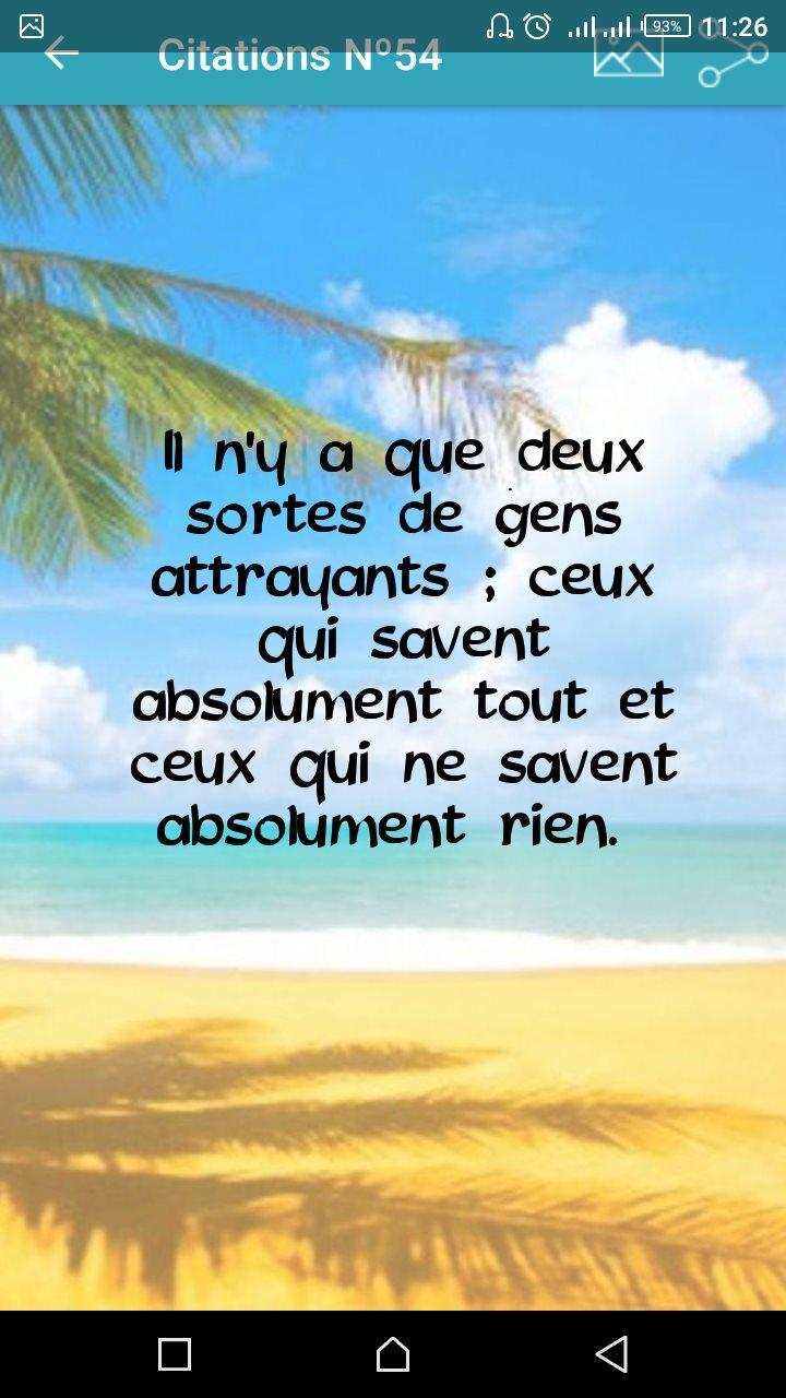 Citation De La Vie Gratuit Phrase De Sagesse For Android Apk Download