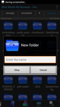 Blue Whale file Manager Browser - Pro screenshot 14