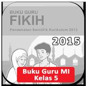 Buku Guru Kelas 5 MI Fikih Revisi 2015 icon
