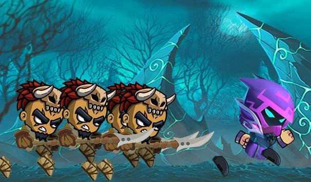 shadow and death - stickman fighter - dark combat screenshot 3