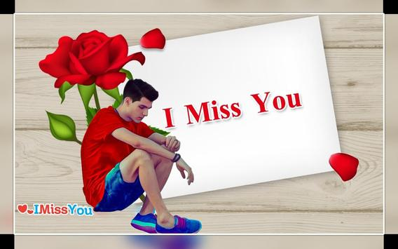 Miss You Photo Editor 2019 New poster