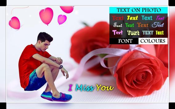 Miss You Photo Editor 2019 New screenshot 2