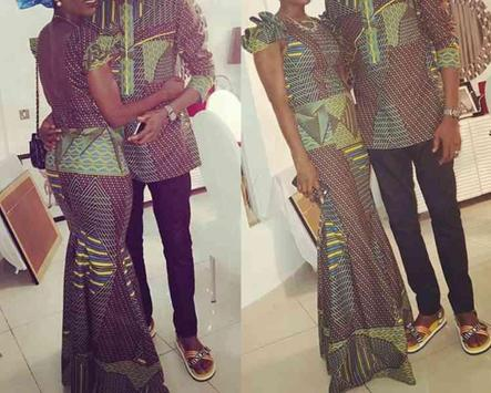 African Couple Fashion Ideas poster