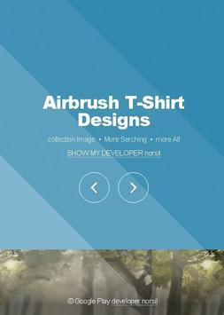 Airbrush T-Shirt Designs poster