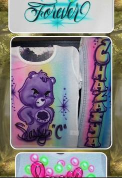 Airbrush T-Shirt Designs screenshot 12