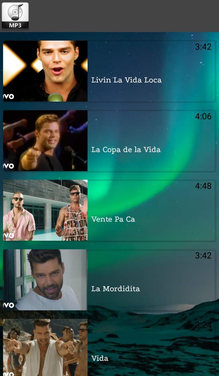 ricky martin livin la vida loca mp3 free download