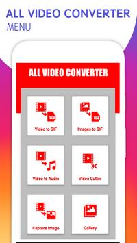 All Video Converter : Video To Mp3, GIF And More for Android