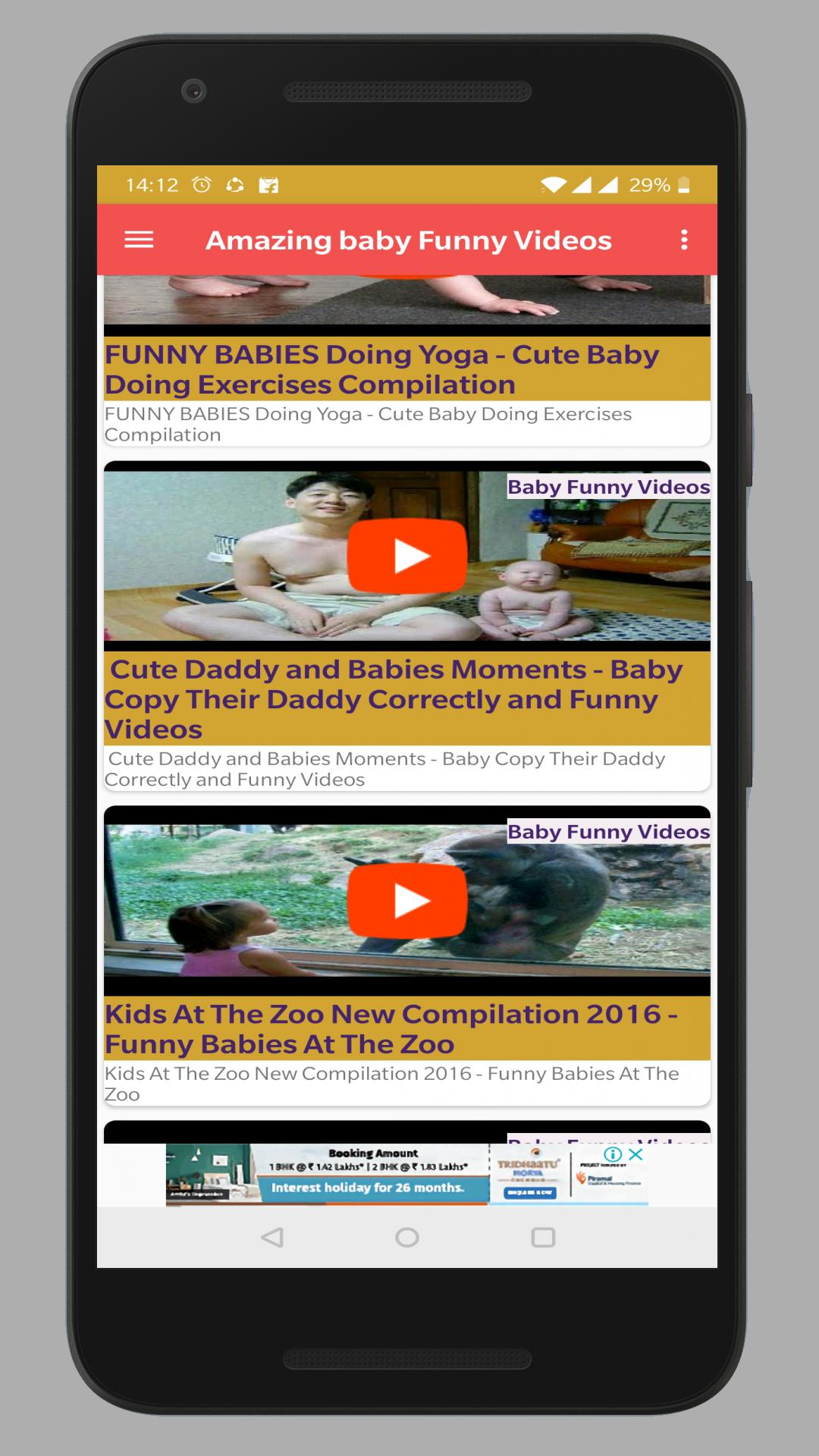 Funny Baby Videos 2018 For Android Apk Download