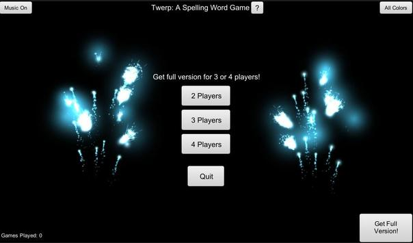 Twerp! A Spelling Game Free screenshot 4