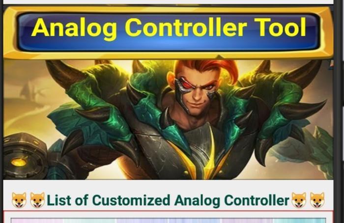 Aplikasi android terbaik download Analog Controller Tool