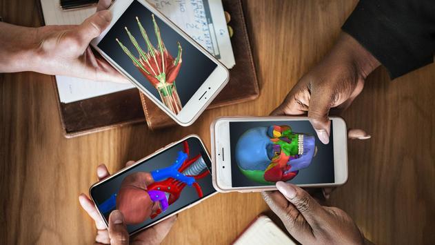 Anatomy Learning 3D - 三维解剖学地图集-解剖和学习解剖学 海报