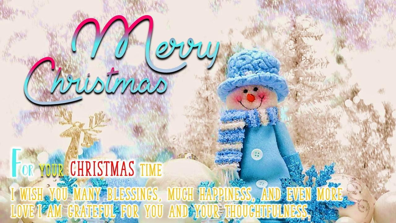 Merry Christmas Greeting And Happy New Year 2020 For Android