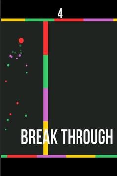 Break Through - Laser Walls poster