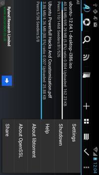 aDownloader captura de pantalla 4
