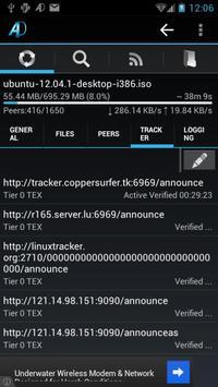 aDownloader captura de pantalla 3