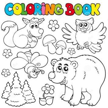 Animal Coloring Book screenshot 1