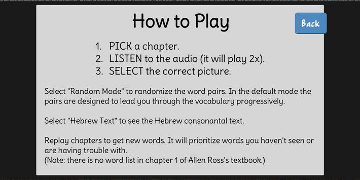 Hebrew Words - Ross (Trial) screenshot 5
