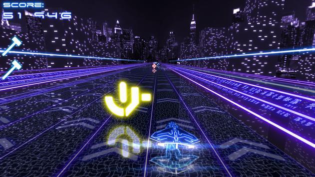 Neon City Free screenshot 4