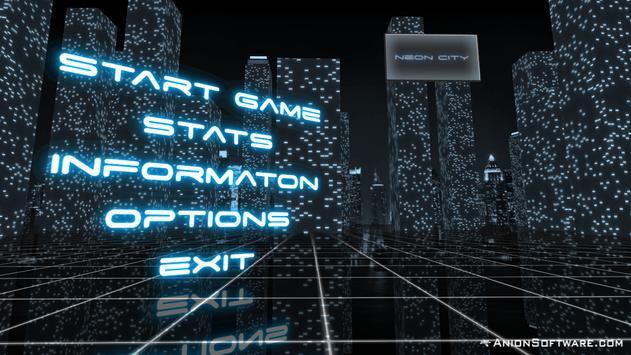 Neon City Free screenshot 5