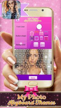 My Photo Keyboard Themes screenshot 2