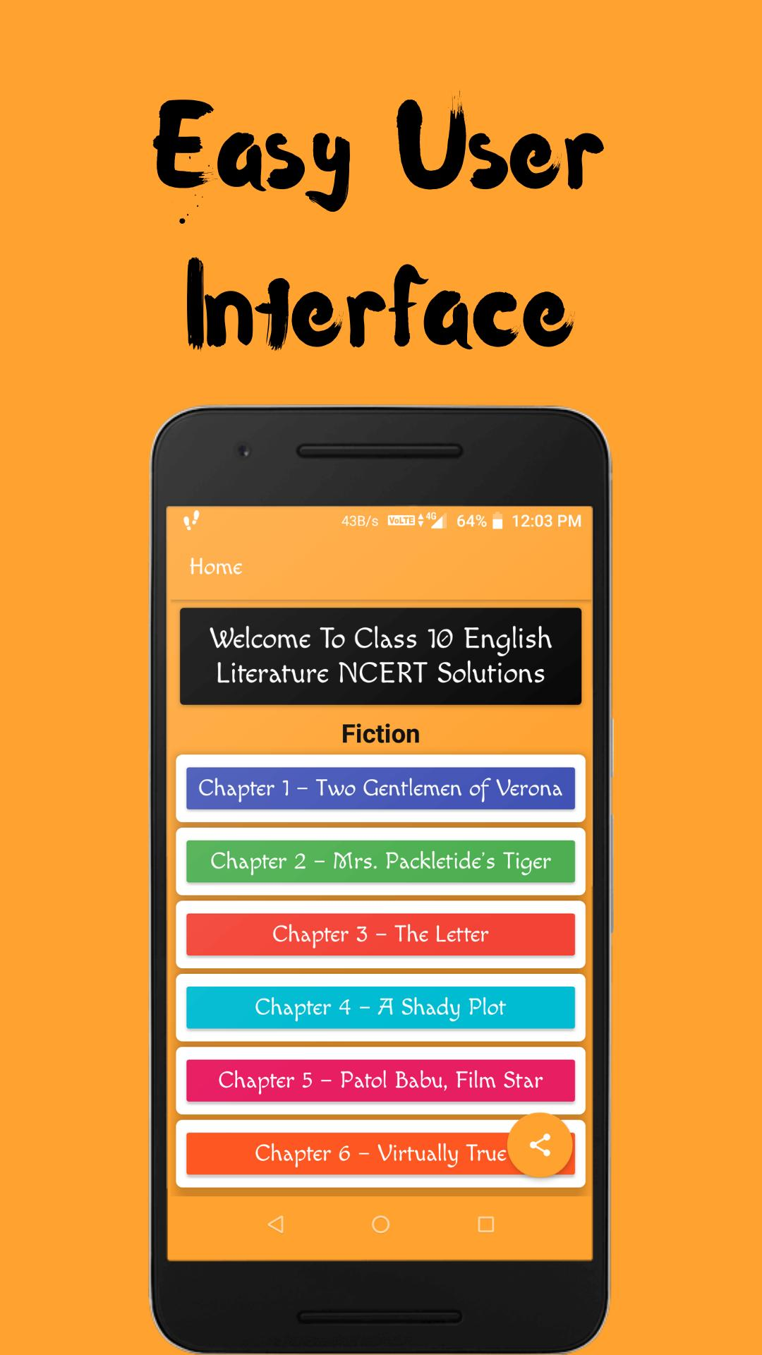 Class 10 English Literature NCERT Solutions for Android