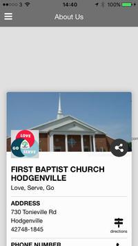 First Baptist Hodgenville screenshot 3