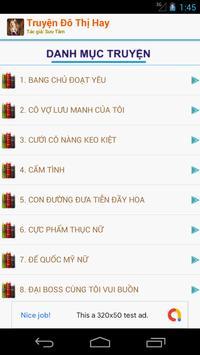Truyện Đô Thị Hay Offline screenshot 1