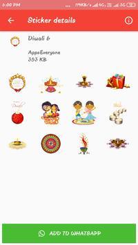 Diwali Stickers 2019 - Happy Diwali Stickers screenshot 1